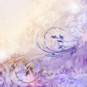 Beautiful Floral Background - vector #213753 gratis