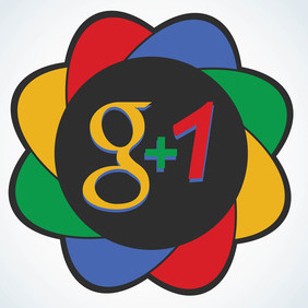 Google Plus 1 Icon - Free vector #213813