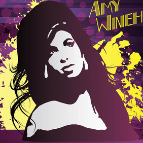 Amy Winehouse - vector #213833 gratis