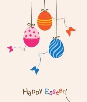 Easter Card - vector #213863 gratis