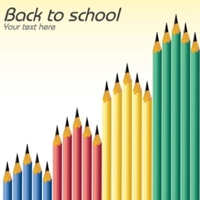 Back To School Again - vector gratuit #214423