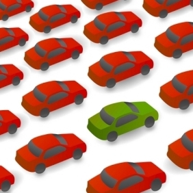 Cars On Way - Free vector #214523