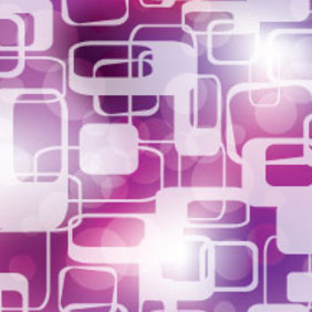 Random Squars In Purple Graphic Design - Free vector #214573