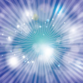 Free Abstract Blue Background With Shining Light - vector gratuit #214883