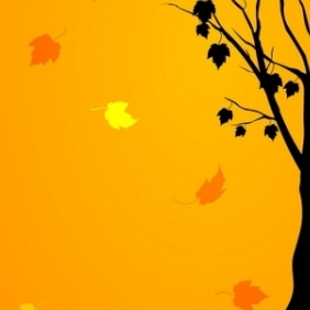 Autumn Card - vector gratuit #214903
