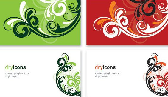 Business Cards 4 - Free vector #215063