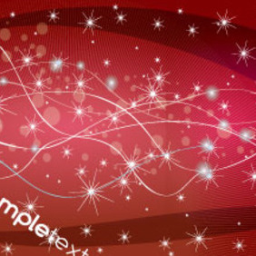 Red Abstract Shinning Lines & Design Graphic - Kostenloses vector #215253