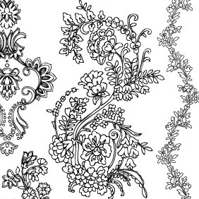 Free Decorative Vector-4 - Free vector #215413