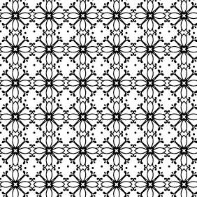A Decorative Radial Seamless Vector Pattern - vector gratuit #215763