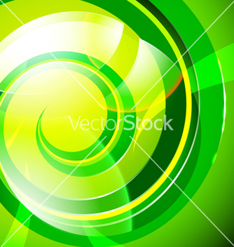 Free green abstract vector - Free vector #215843