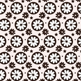 Hippie Free Photoshop And Illustrator Pattern - Free vector #216073