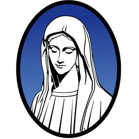 Mary Mother Of Jesus - vector gratuit #216193