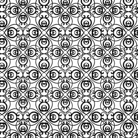 Crazy Swirly Photoshop And Vector Pattern - Free vector #216303