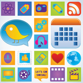 Web Icon Pack - vector #216403 gratis