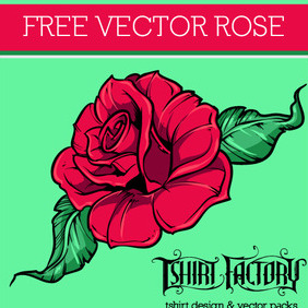 Free Vector Rose - Free vector #216453