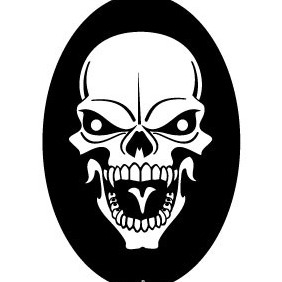 Skull Vector Illustration - Kostenloses vector #216713