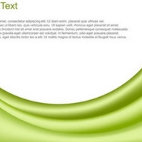 Wavy Background By Vector Fresh - vector gratuit #216873