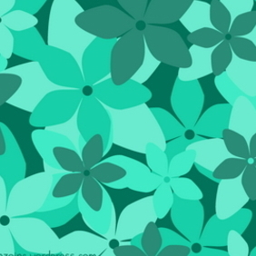 Retro Floral Pattern 2 - Free vector #217013