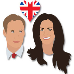 William And Kate - бесплатный vector #217023
