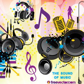 Free Sound Vector Graphics - vector gratuit #217033
