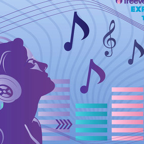 Music Experience Vector - Free vector #217063