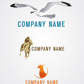 Animal Logo Pack 01 - vector gratuit #217143