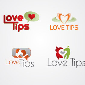 Love Tips Logo Pack 01 - Kostenloses vector #217233
