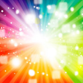 Rainbow Transparent Vector Design - бесплатный vector #217393