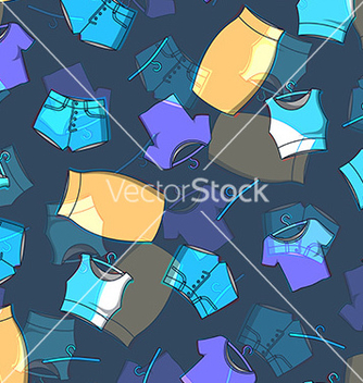 Free pattern of fashion on a dark background vector - vector #217453 gratis
