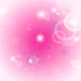 Pink Background Vector Graphic - Kostenloses vector #217643