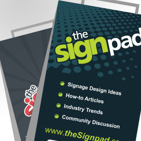 4 Free Vector Sandwich Board Designs - Free vector #217683
