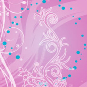 Move Abstract Floral Free Vector Background - Free vector #217843