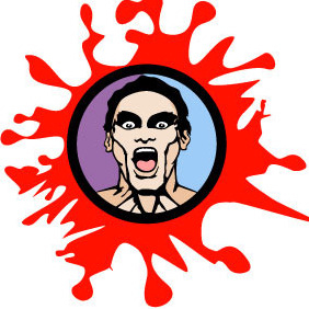 Man In Fear Vector - vector #217863 gratis
