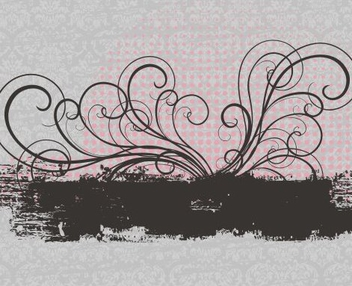 Pretty Banner - vector #217933 gratis