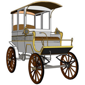 Vector Carriage - vector #218273 gratis