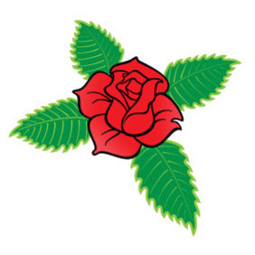 Rose Cross Vector - Free vector #218663