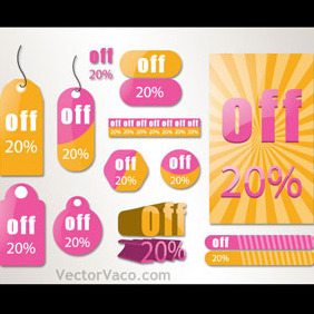 Sale Tag - Free vector #218953