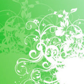 Nature Green Design - Free vector #218993