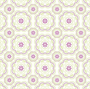 Wallpaper pattern - Free vector #219023