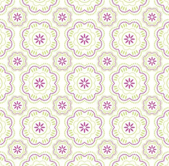 Wallpaper Pattern - vector gratuit #219023