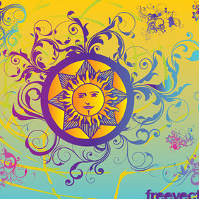 Summer Graphics - vector gratuit #219043