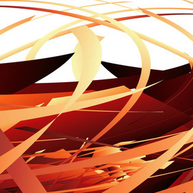 Abstract Scribble Vector Background - vector #219113 gratis