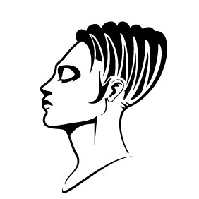 Girl Vector Profile - Free vector #219253