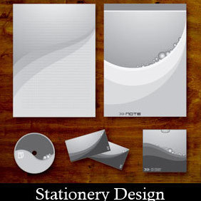 Vector Stationery Designs - Free vector #219453