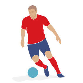 Soccer Player Vector Image 2 - Kostenloses vector #219463