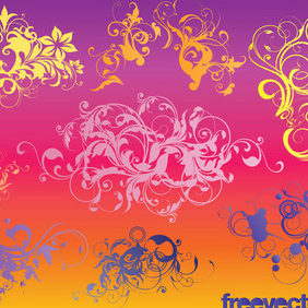 Ornaments Vectors - vector #219523 gratis