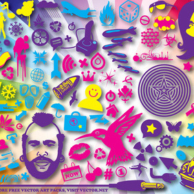 Design Pack Color - vector #219663 gratis