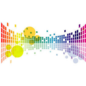Abstract Colorful Vector Artwork - vector #219673 gratis