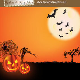 Halloween Vector Graphics - Free vector #219883