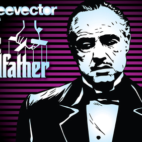 The Godfather - vector gratuit #220153